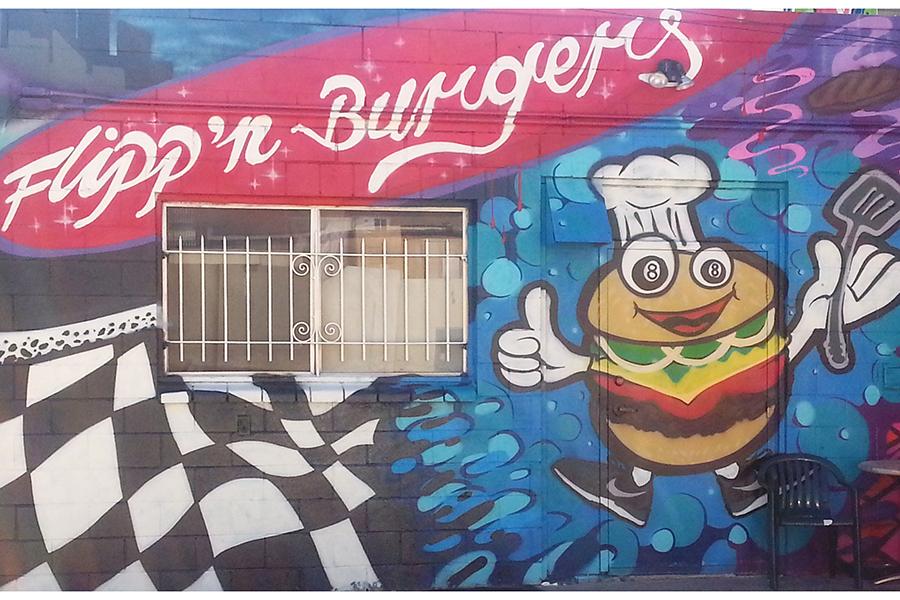 Flippn Mural 1