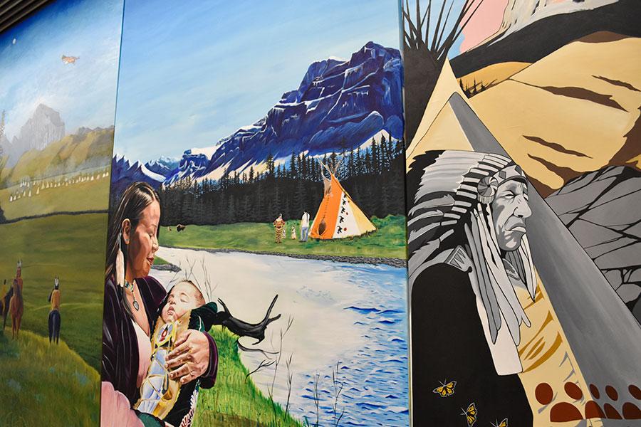 Indigenous MuralWEB
