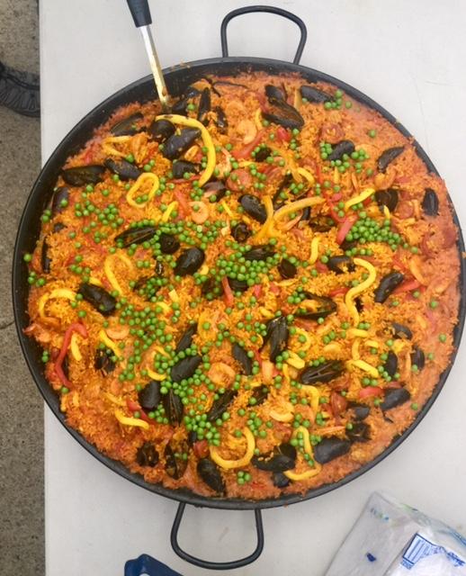 Photo of the Seafood Paella