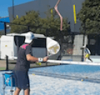 Padel Instruction Shots off the wall