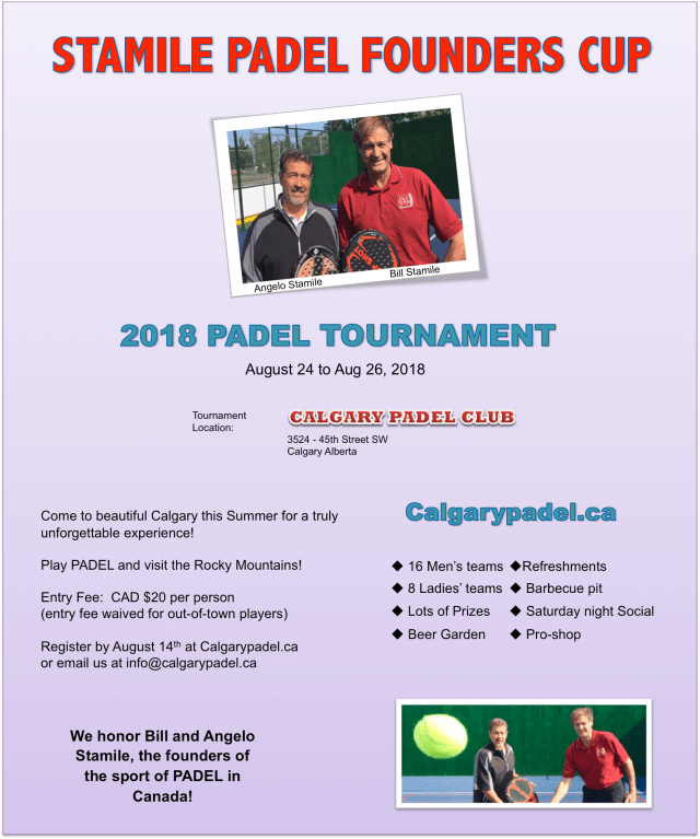Stamile Padel Founders Cup