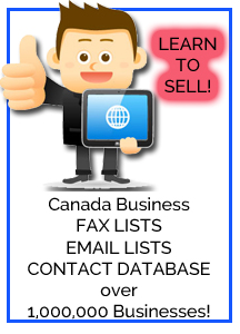 Canada Business Contact Lists
