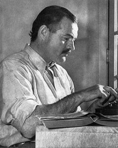 Photo Ernest Hemingway
