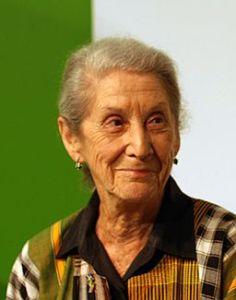 Author Nadine Gordimer