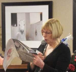 Photo of President Margaret Sparkes