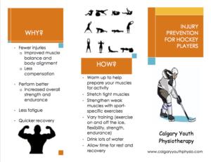 Hockey Injury Prevention Pamphlet