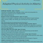 Adaptive Physical Activity in Alberta