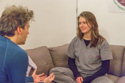 Consultation en Câlinothérapie avec Alie