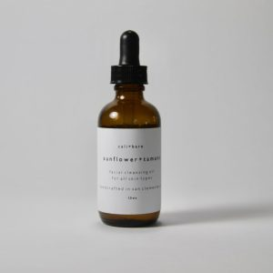 cali+bare SUNFLOWER + TAMANU FACIAL CLEANSING OIL