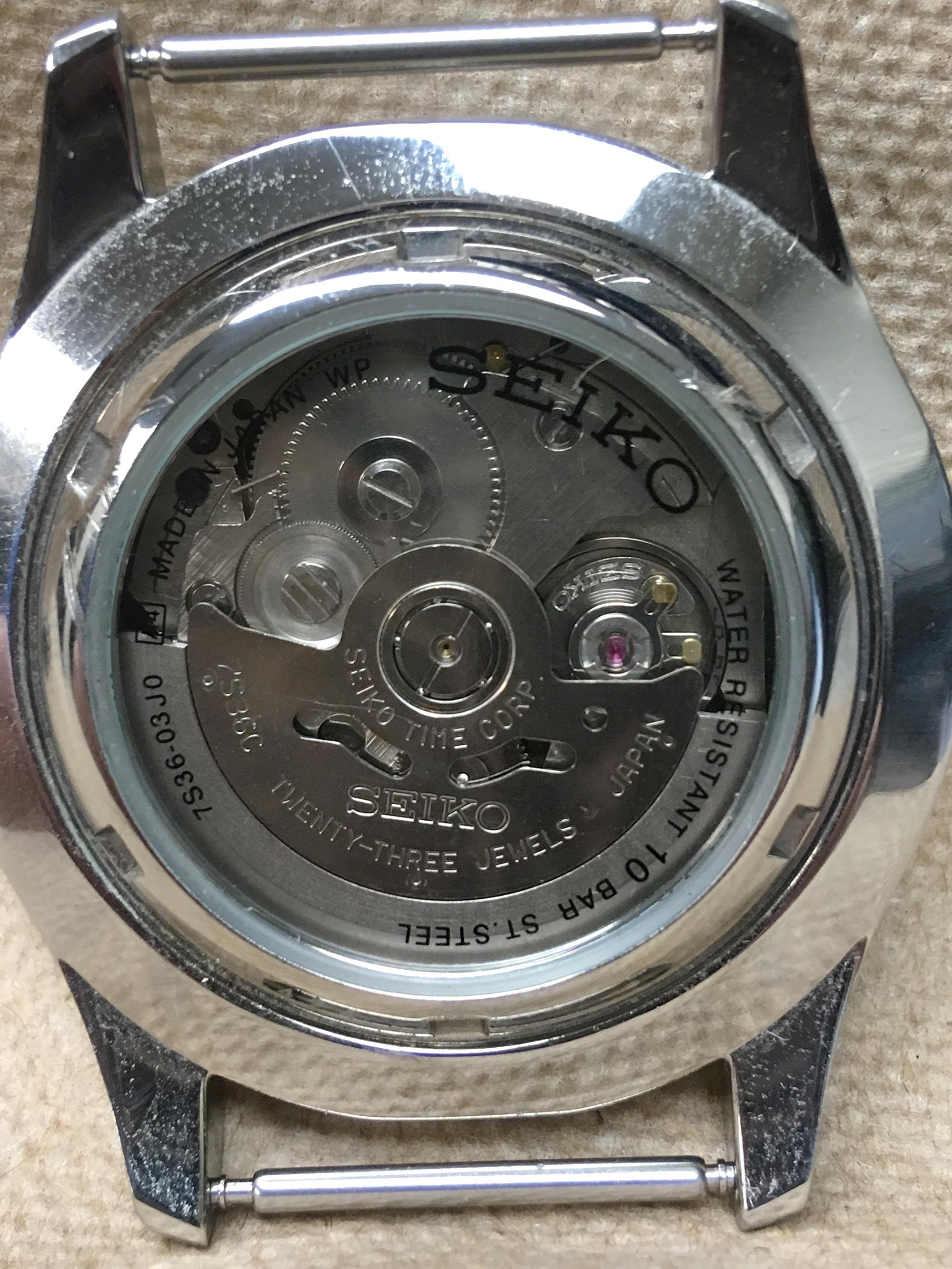 Seiko Caliber 7S36 Watch Movement   Caliber Corner
