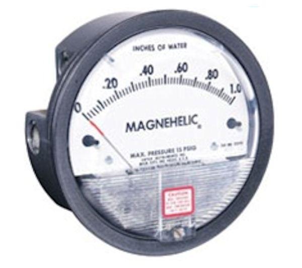 Dwyer Magnehelic Pressure Gauge P/N 2002