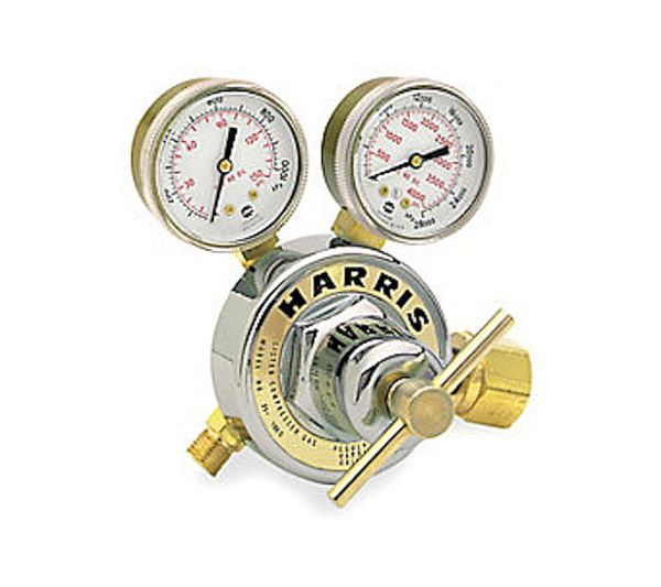 Used Harris 25-100C-540 Oxygen Regulator