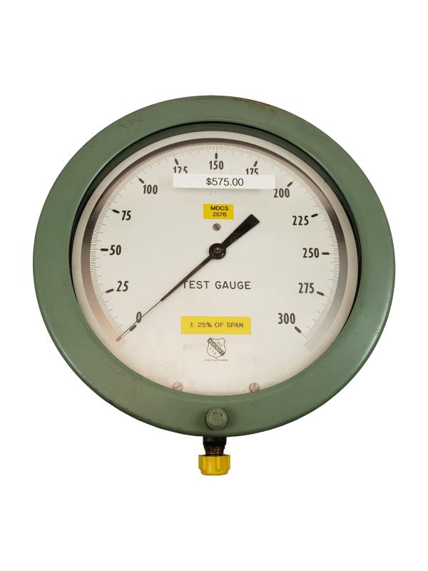 Used Ashcroft 300 PSI Test Gauge Front