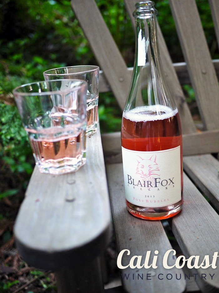 Blair Fox Sparkling Grenache Rose - Santa Barbara Sparkling Wine