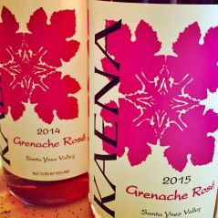Kaena rose wine