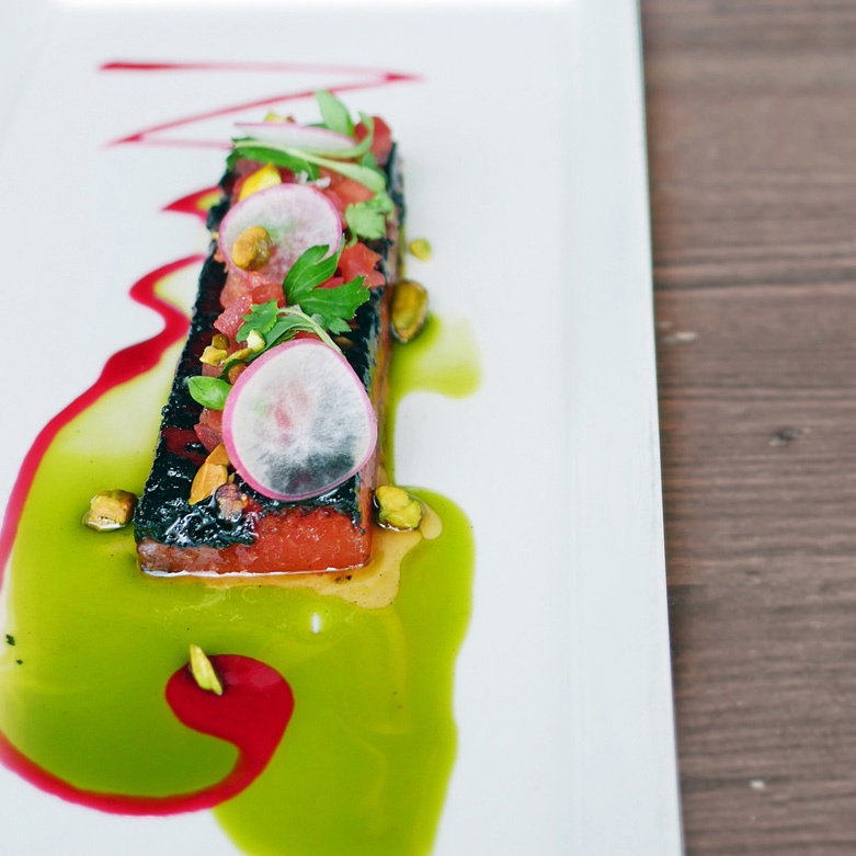 Caramelized Grilled Watermelon Salad at Black Sheep