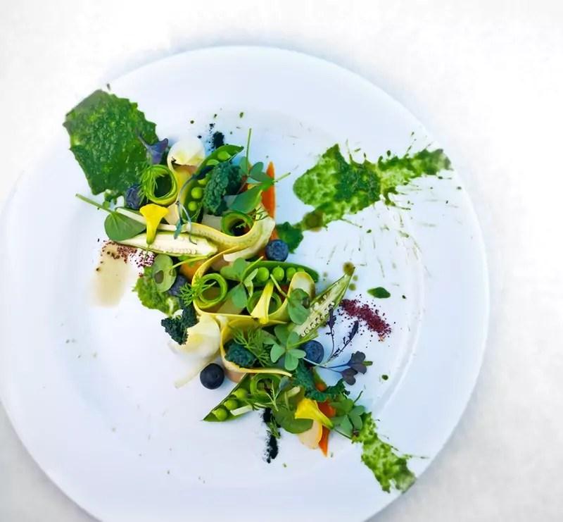 Spring Pea Salad - Mesa Verde Restaurant
