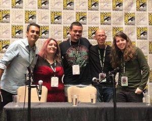 International Movie Making Panel with Frank Rodriguez, Victor Osuna, Mitch Hyman and Seb. M. Finck