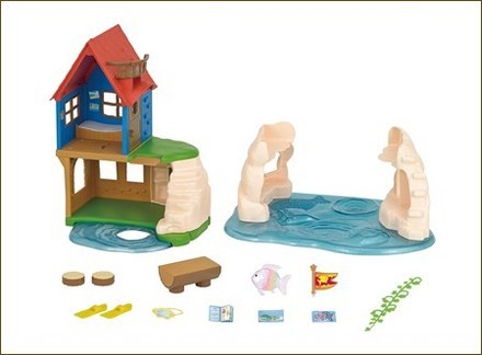 Calico Critters Secret Island Playhouse Image 1