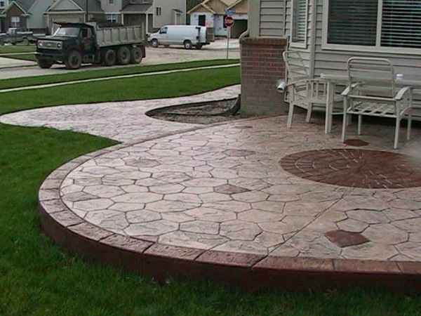 stamped concrete patio designs Stamped Concrete Ideas - Stamped Concrete Patio Designs