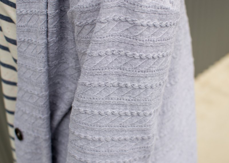 Jenny's Cable Cardigan 1