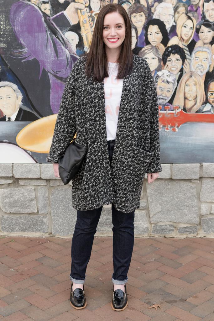 Jenny Maker Named Esme Mottled Coatigan 4