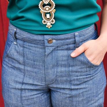Chambray Lander Pants