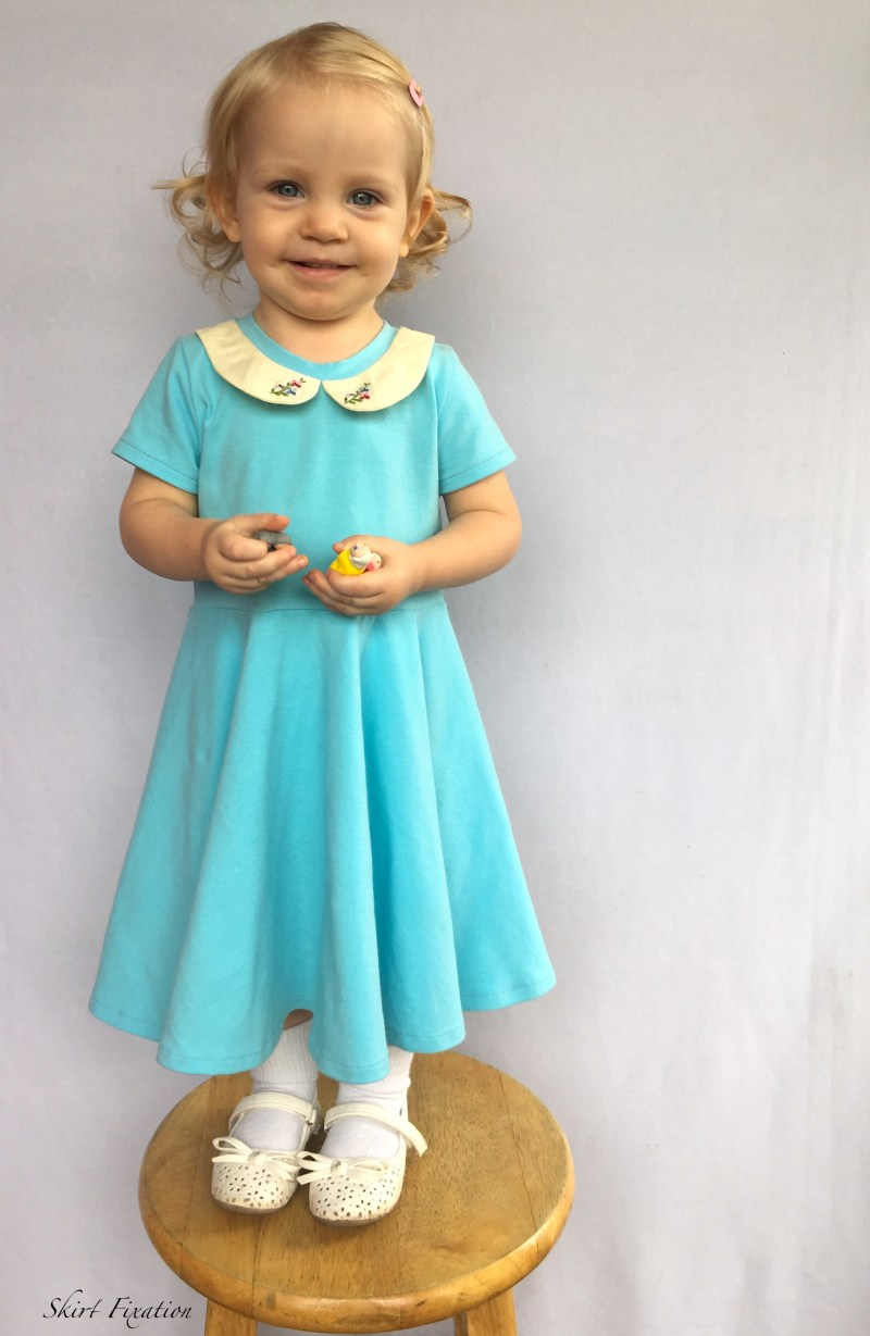 Robin's Egg Blue Dress 10