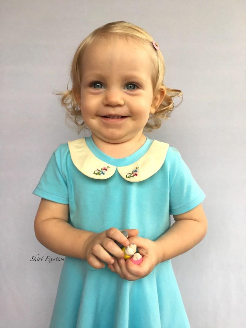 Robin's Egg Blue Dress 3 - Cali