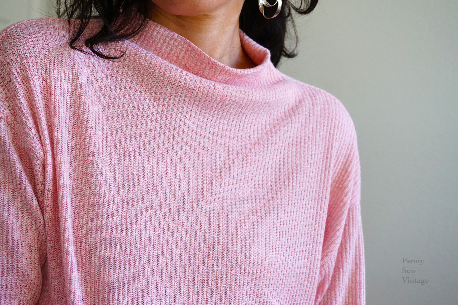 A Cozy Ribbed Sweater Knit