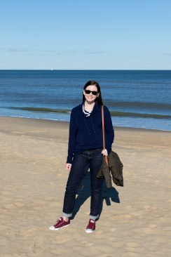 Jenny Maker Navy Hey June Tallinn Sweatshirt (1 of 3)