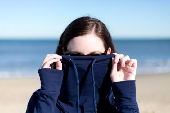 Jenny Maker Navy Hey June Tallinn Sweatshirt (3 of 3)