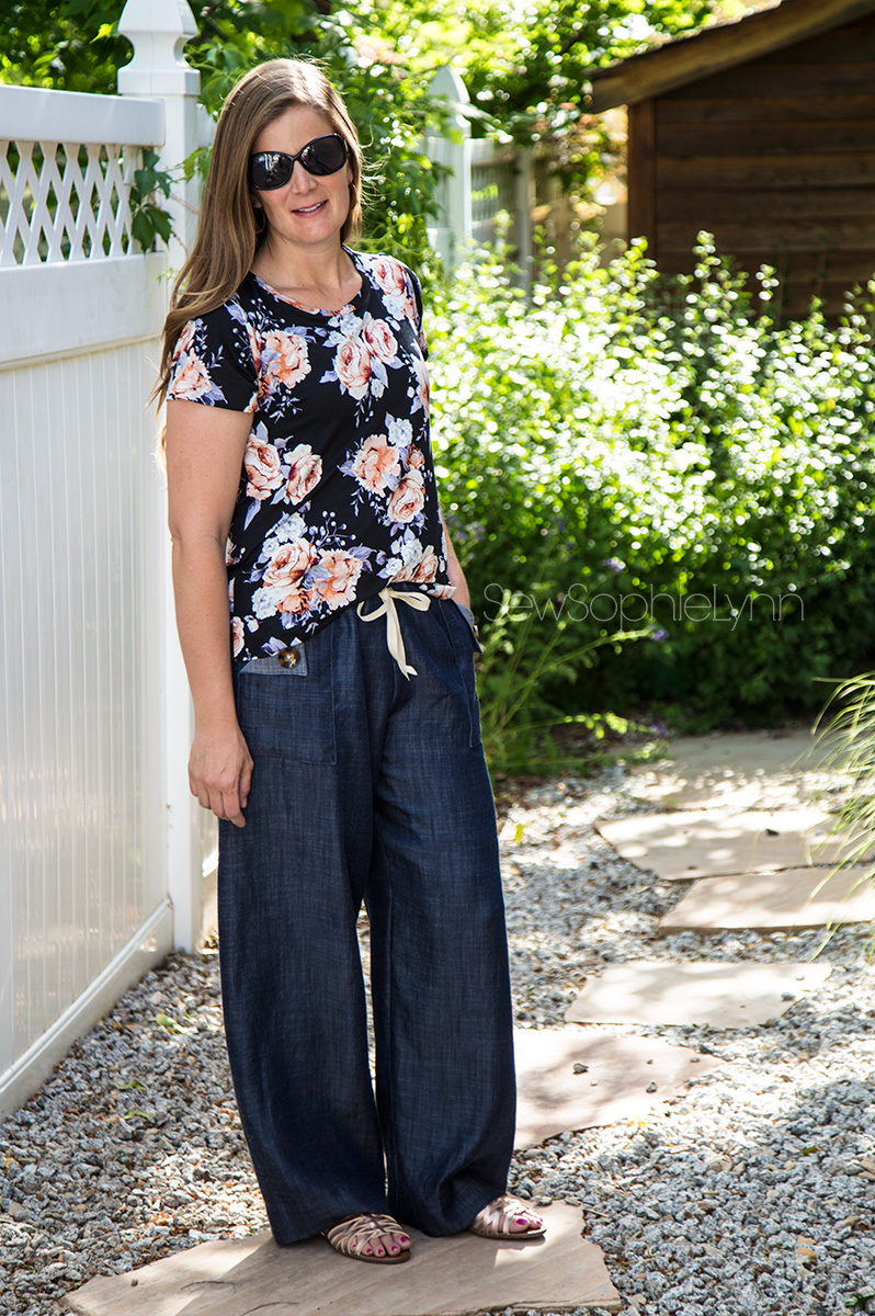 Summer Sewing with Tencel Denim