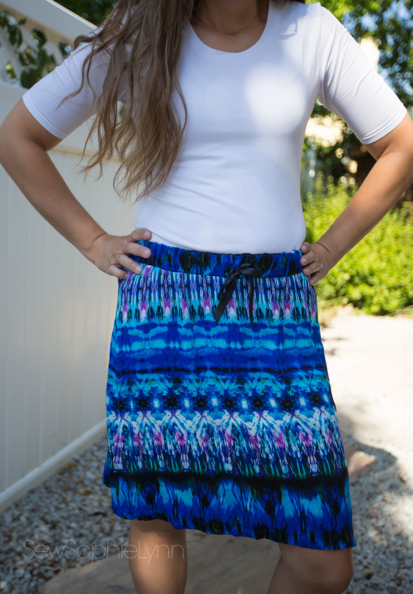 The Perfect Summer Skirt in Rayon Gauze