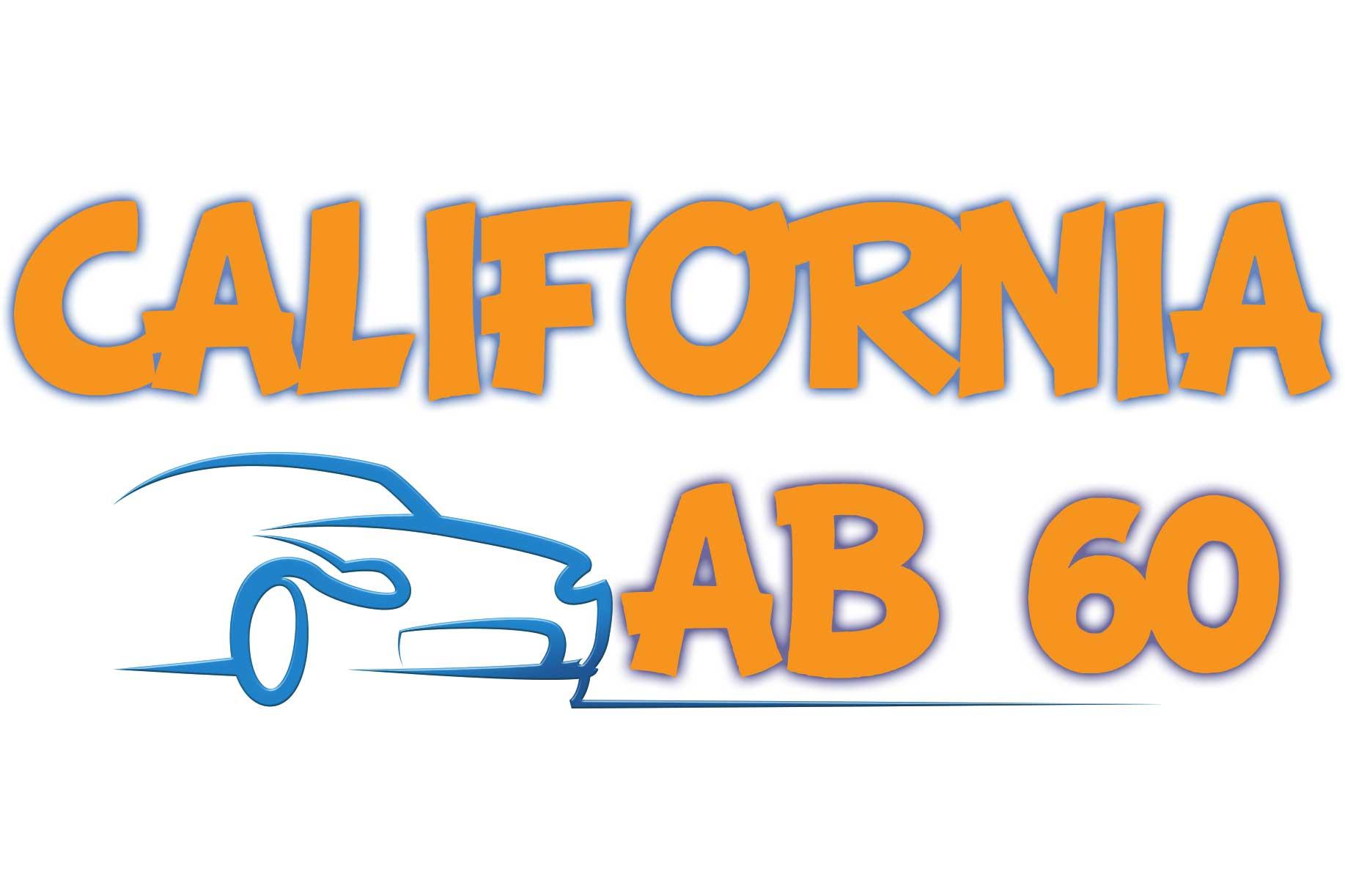 California AB 60 - http://california-dmv-practice-test.org