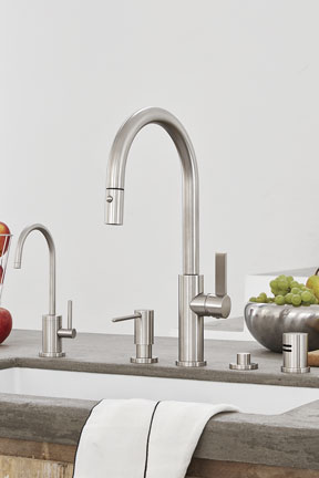 california faucets kitchen collection