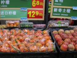 China re-opens market to California citrus