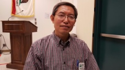 Dong Wang, research leader with the USDA-Agriculture Research Service in Parlier