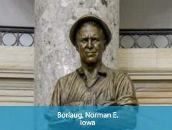 Norman E. Borlaug Statue