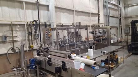Fresno State Winery Bottling Line