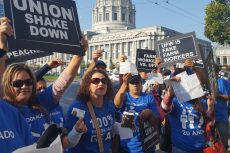 Gerawan Employees Protest at CA Supreme Court Hearing
