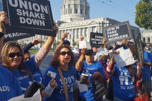 Gerawan Farm Workers Protest at CA Supreme Court Hearing