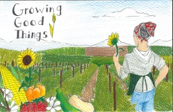 Tulare Calendar Highlights Growing Good Things