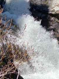 Raymond Meadow Creek rapids up close.