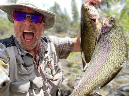 A screamin' day fishing