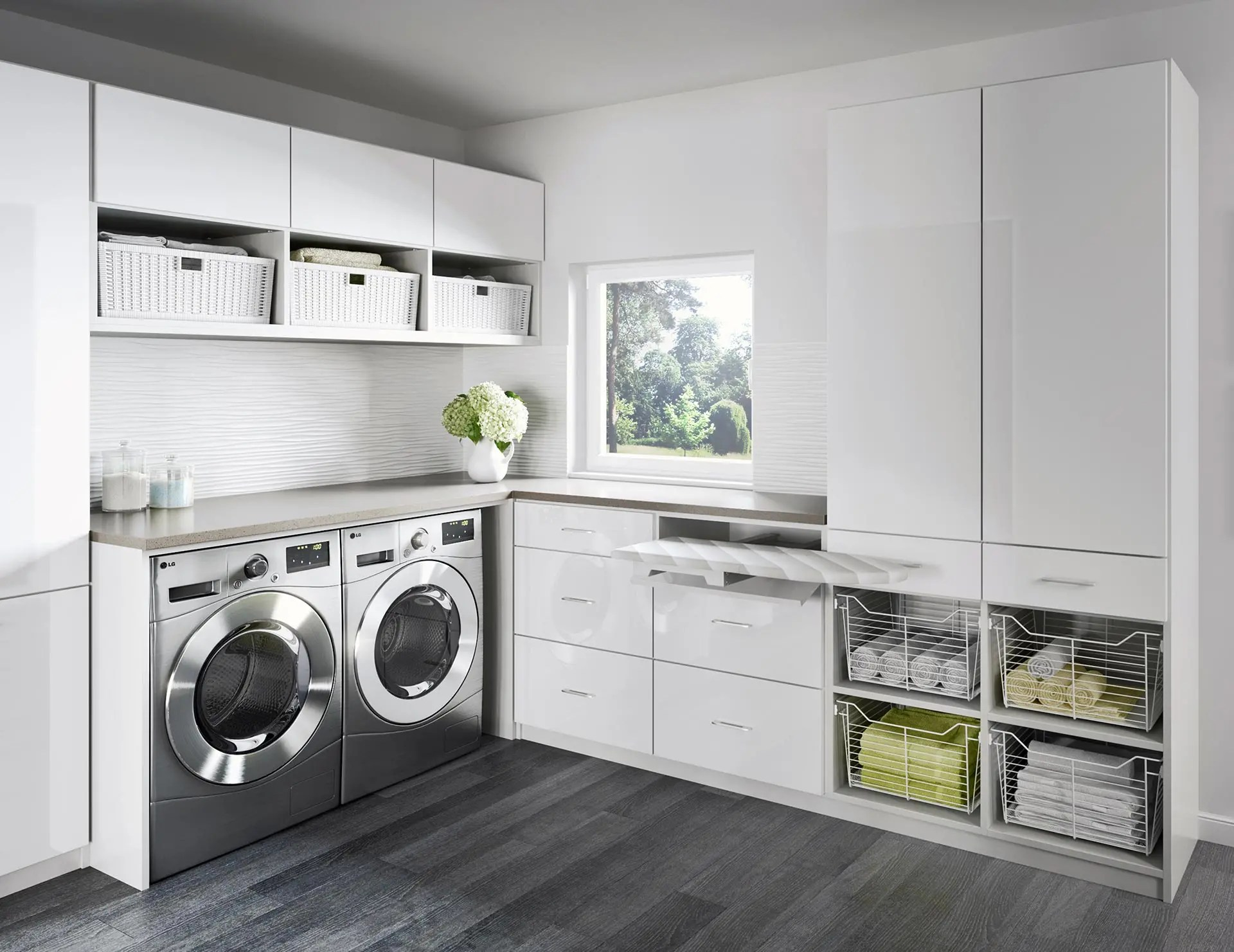 Laundry Room Cabinets & Storage Ideas by California Closets on Laundry Cabinets Ideas  id=19278
