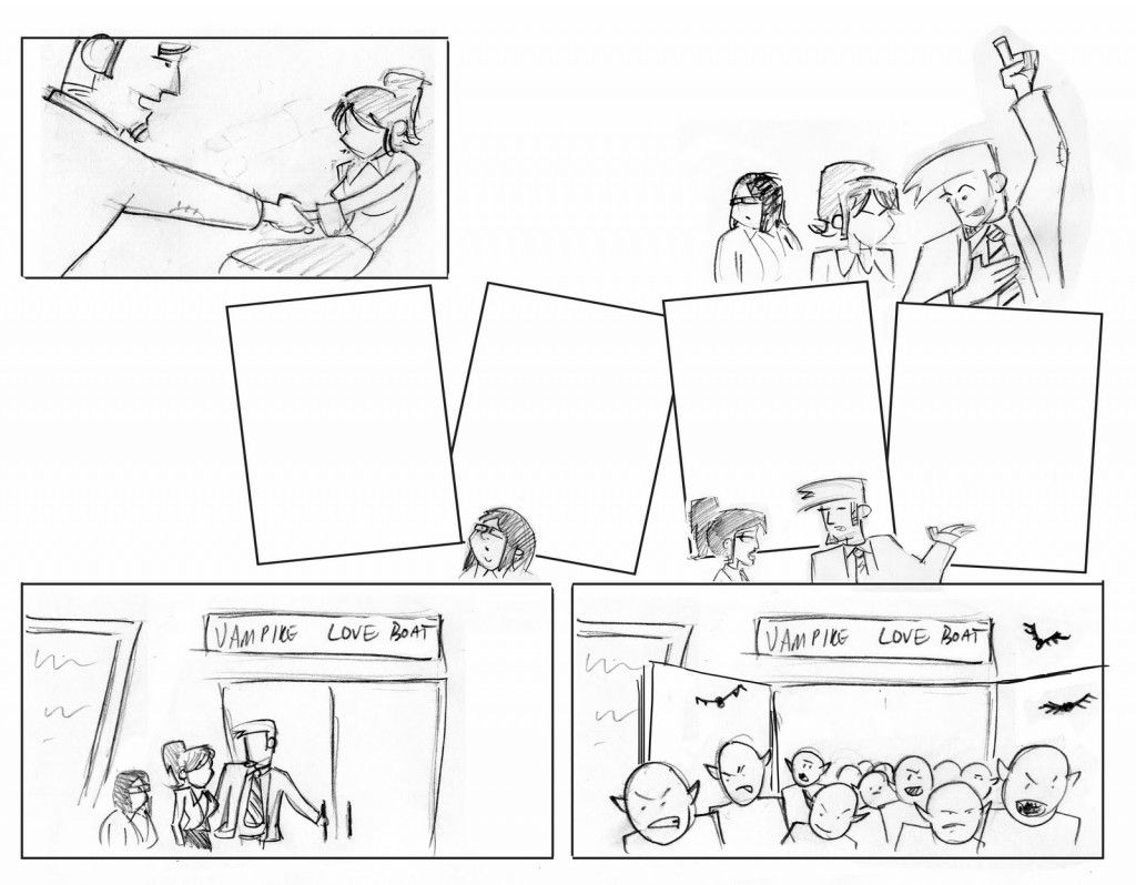 A Comic From Script To Page