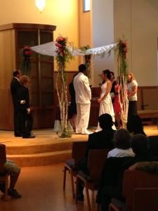 Congregation beth el berkeley Jewish Traditional Wedding chuppah Ceremony DJ