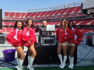 San Francisco 49ers DJ Stadium