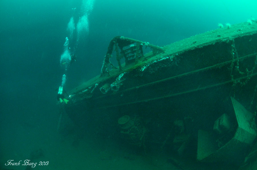 Diving The Wrecks Of Narvik Norway S Wwii Graveyard California Diver Magazine